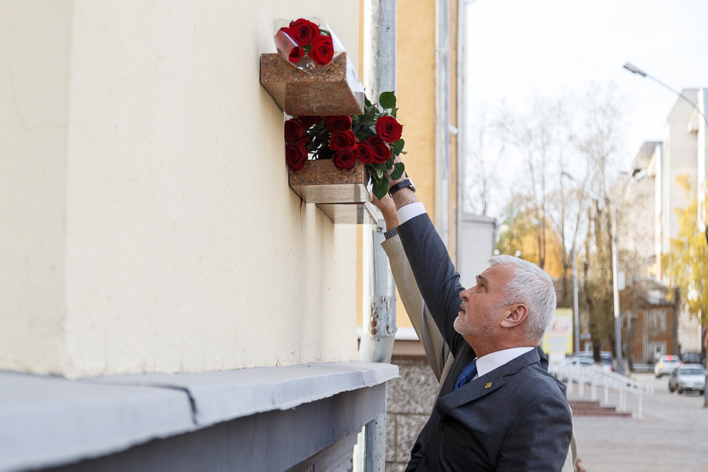 В Сыктывкаре почтили память Ивана Павловича Морозова