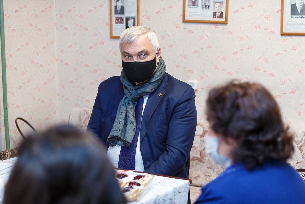 Владимир Уйба встретился с лидерами Союза писателей Республики Коми