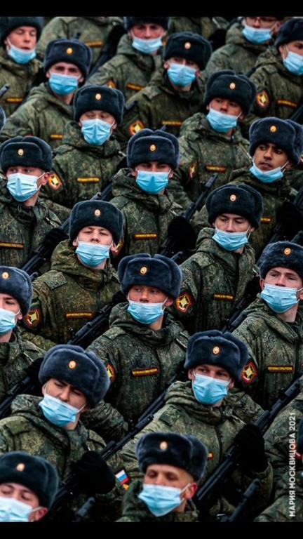 Илья Казаринов — участник парада Победы на Красной площади